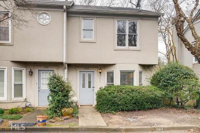 Atlanta Condo/Townhouse New: 1002 Defoors Lndg #1002
