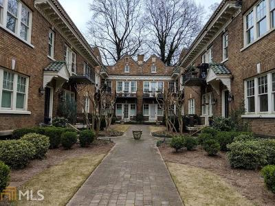 Atlanta Condo/Townhouse New: 907 Piedmont Avenue NE #17