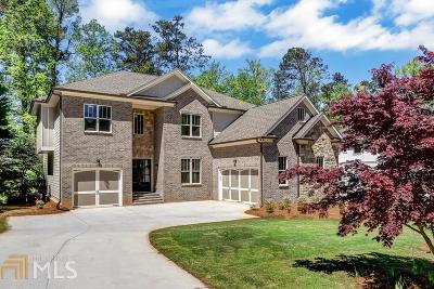 Marietta Single Family Home Back On Market: 1409 Siesta Ln