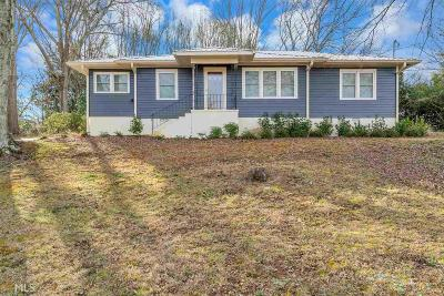 Jefferson Single Family Home New: 151 Old Pendergrass