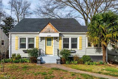 Atlanta Single Family Home Under Contract: 697 Stokeswood
