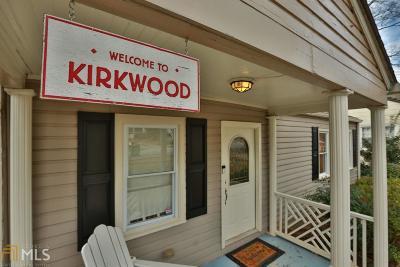 Kirkwood Single Family Home New: 156 Murray Hill Ave