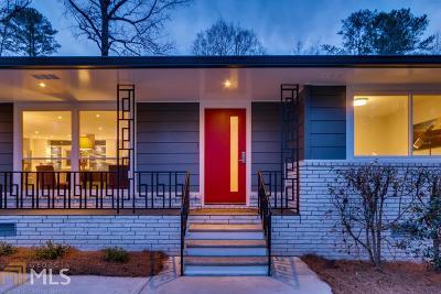 Smyrna Single Family Home New: 471 Rebecca Lane SE