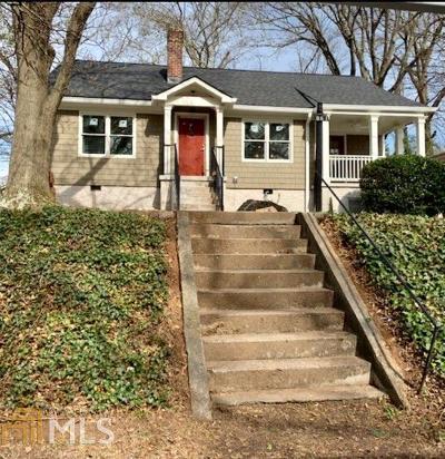 Atlanta Single Family Home New: 861 Erin Ave