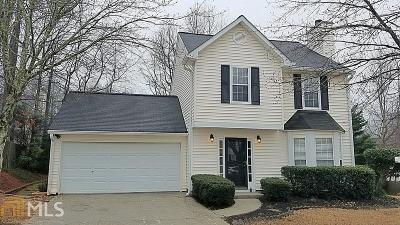 Acworth Single Family Home New: 4468 High Gate Drive NW
