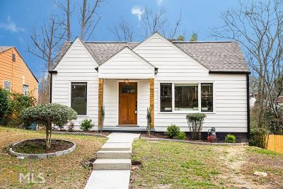 Mozley Park Single Family Home Under Contract: 216 Chicamauga Ave