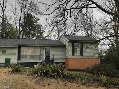 Smyrna Single Family Home New: 5078 Fairmont Road SE