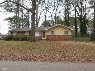 Clayton County Single Family Home New: 991 Tamarack Trl