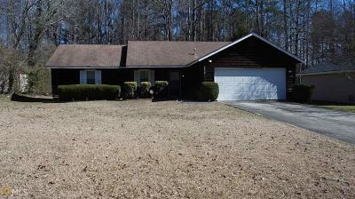 Clayton County Single Family Home New: 8472 Timberlake Dr #7