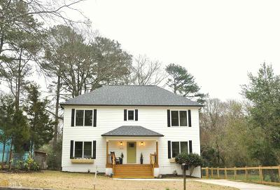 Atlanta Single Family Home New: 676 Pasley Avenue