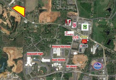 Canton, Woodstock, Cartersville, Alpharetta Commercial For Sale: 5523 Hickory Flat Hw