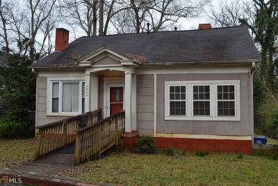Atlanta Single Family Home New: 2036 Emery