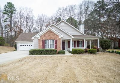 Dacula Single Family Home New: 3944 Pine Gorge Circle