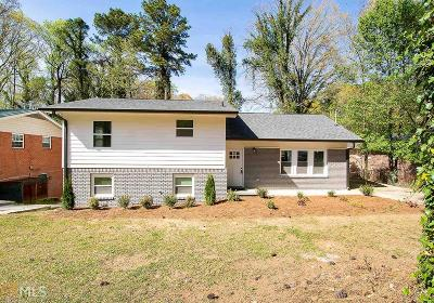 Atlanta Single Family Home New: 4095 Kenora Drive SW