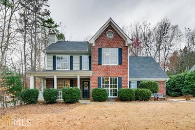 Flowery Branch Single Family Home Under Contract: 6375 Flat Rock Dr