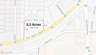 Fulton County Residential Lots & Land New: 2723 Roosevelt Hwy