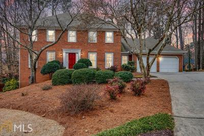 Marietta Single Family Home Under Contract: 775 Bedford Oaks Dr