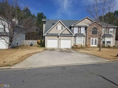 Conyers Single Family Home New: 2467 Wall Street