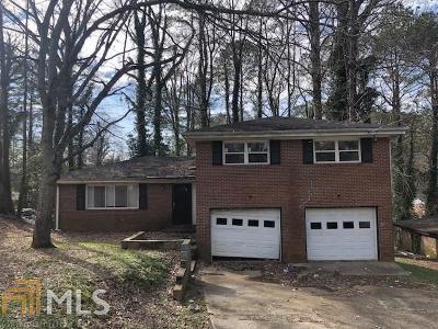 Decatur Single Family Home Under Contract: 2707 Terratim Ln