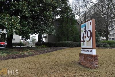Decatur Condo/Townhouse Under Contract: 449 Clairemont Ave #A3