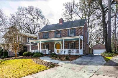 Atlanta Single Family Home New: 1225 University
