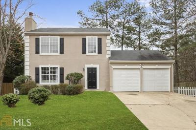 Acworth Single Family Home Under Contract: 1796 Crestwood Dr