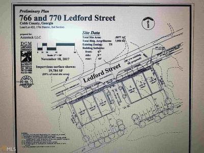 Smyrna Residential Lots & Land For Sale: 766 S Ledford St