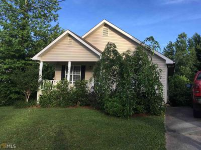 Habersham County Single Family Home New: 290 Hickory Ave