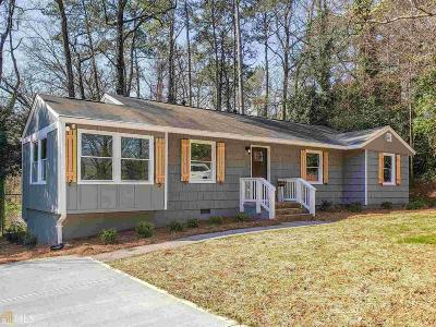 Smyrna Single Family Home New: 1360 Twin Oaks Cir