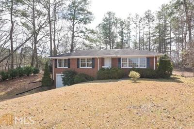 Marietta Single Family Home New: 351 Church Rd