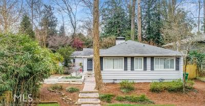 Atlanta Single Family Home New: 1241 Sheridan Rd