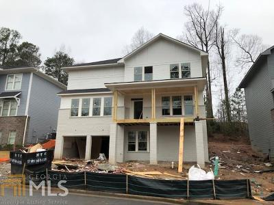 Atlanta Single Family Home New: 3042 Silver Hill Ter