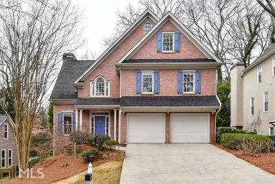 Cobb County Single Family Home New: 4162 Gateswalk Dr