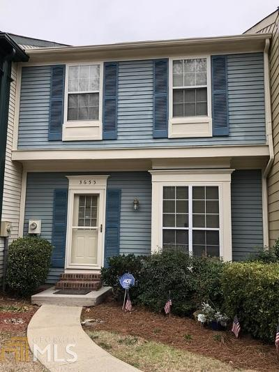 Norcross Condo/Townhouse For Sale: 3655 Monticello Commons