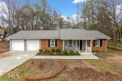 Powder Springs Single Family Home New: 3214 Valley View St
