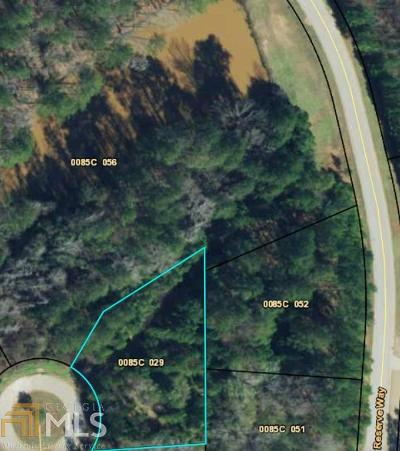 Covington Residential Lots & Land New: 320 Alcovy Reserve Way #29