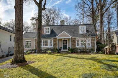 Atlanta Single Family Home New: 281 Alberta Drive