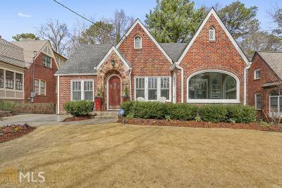 Atlanta Single Family Home New: 1172 E Rock Springs Road