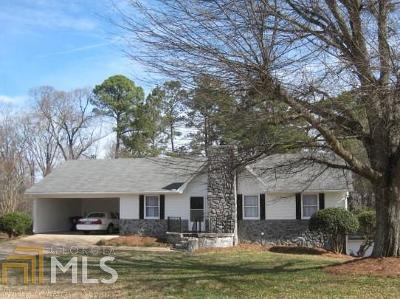 Douglasville Single Family Home New: 2262 Slater Mill Rd
