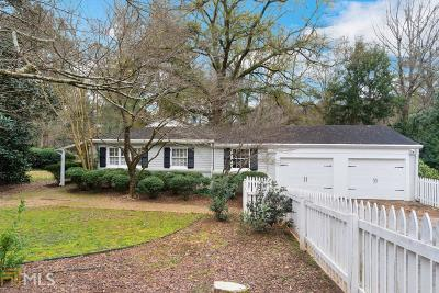 Fulton County Single Family Home New: 2560 Ridgemore Rd
