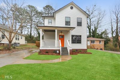 Atlanta Single Family Home New: 2548 Bellview Ave