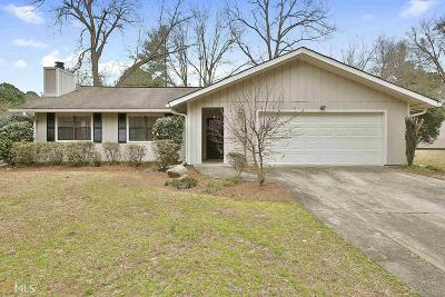 Peachtree City Single Family Home Under Contract: 501 Waterwood Bnd