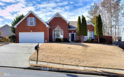Snellville Single Family Home Under Contract: 3179 Ashwood Grove Park