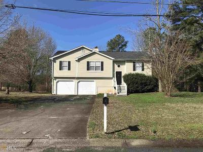 Douglasville Single Family Home New: 187 Burton Dr