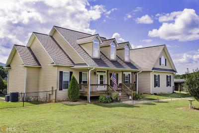Towns County Single Family Home Under Contract: 1425 Garland Ln