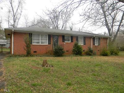 Griffin Single Family Home Under Contract: 1802 Spring Valley Cir