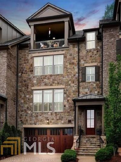 Cobb County Condo/Townhouse For Sale: 3884 Paces Lookout Dr