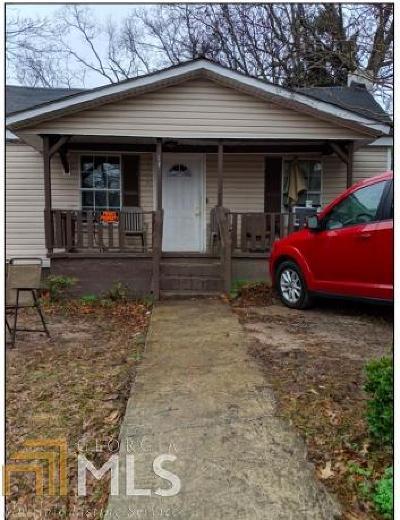 Coweta County Single Family Home New: 131 West Washington St