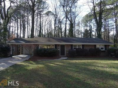 Doraville Single Family Home Contingent With Kickout: 4412 Glenda Way
