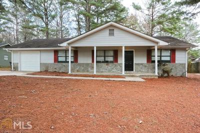 Douglasville Rental New: 1394 Cave Springs Rd